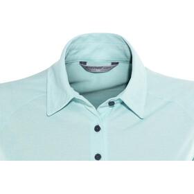 Ziener Clemenzia Fietsshirt korte mouwen Dames turquoise